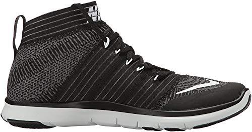 Nike Mens Free Train Virtue Training Shoes Black/White/Dark Grey 898052-001 Size 10.5