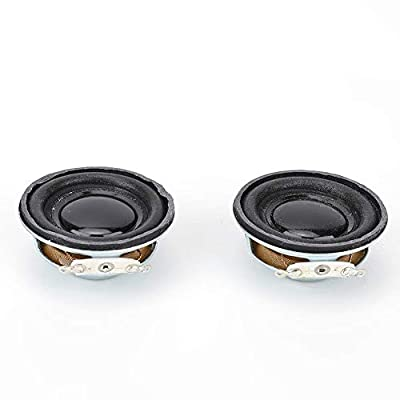 2pcs Audio Speaker 3W 4Ω Stereo Woofer Loudspeaker for Mini Amplifier from Hilitand