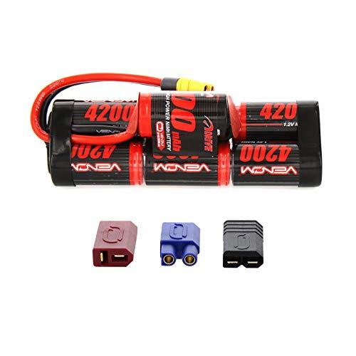 Venom 8.4V 4200mAh 7-Cell Hump Pack NiMH Battery with Universal Plug (EC3/Deans//Tamiya)
