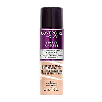 COVERGIRL+OLAY Simply Ageless 3-in-1 Liquid Foundation Natural Beige