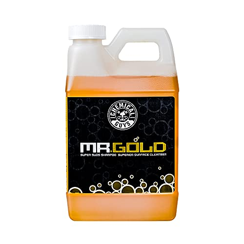 Chemical Guys CWS21364 Mr. Gold Foaming Car Wash Soap (Works with Foam Cannons, Foam Guns or Bucket...