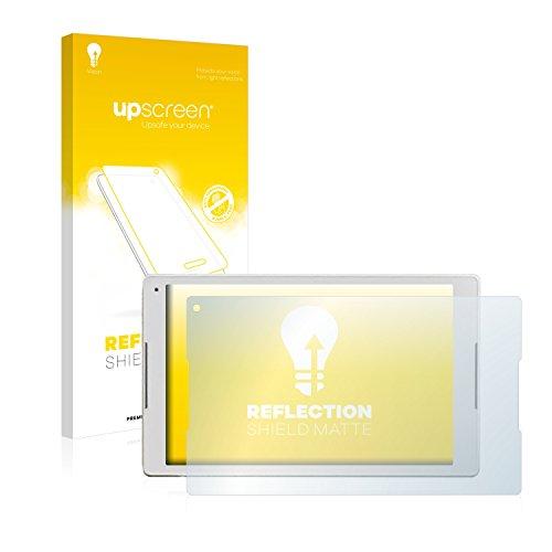 upscreen Entspiegelungs-Schutzfolie kompatibel mit Alcatel Plus 10 – Anti-Reflex Bildschirmschutz-Folie Matt