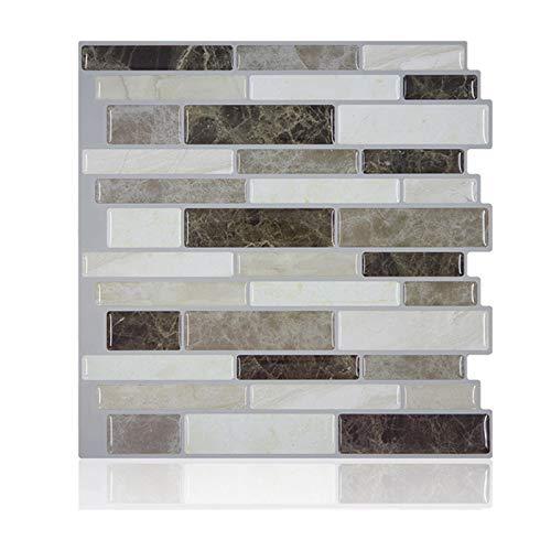 Lynn Crystal Tile Self-Adhesive 3D Wall Sticker Mosaic Tile Backsplash DIY Crystal Tile Selbstklebende 3D-Wandaufkleber Mosaikfliesen Backsplash DIY Epoxy Home Ölfeste wasserdichte Wandaufkleber