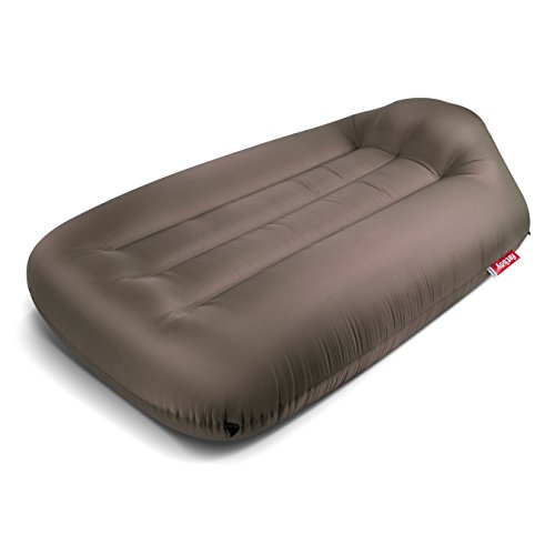 Fatboy Lamzac L, Portable Inflatable Air Lounger Bed with Carry Case - Taupe