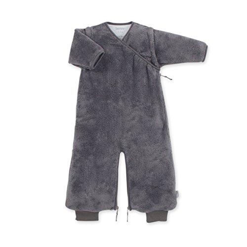 Bemini by Baby Boum 155BMINI94SF Schlafsack Softy Pingu, 3-9 Monate, grau
