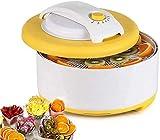 ZJDK Deshidratador de Alimentos eléctrico de actualización, Conservador de Alimentos de 4 Niveles Secador de Control de Temperatura Ajustable para Carne Seca, Frutas y Verduras, creación de bocad