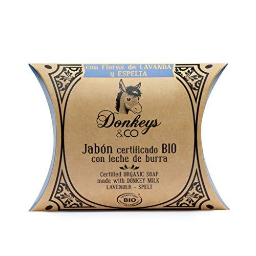Donkey's & Co Savon bio 100g fleur de lavande - épautre (au lait d'ânesse)
