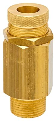 "Control Devices VR Series Brass Vacuum Relief Valve, 0-30"" Hg Vacuum Range, 1/4"" Male NPT from Control Devices"
