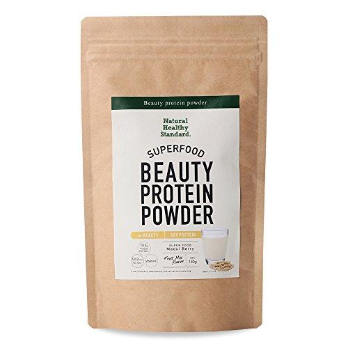 Natural Healthy Standard. ビューティープロテインパウダー ソイ フルーツミックス風味 180g