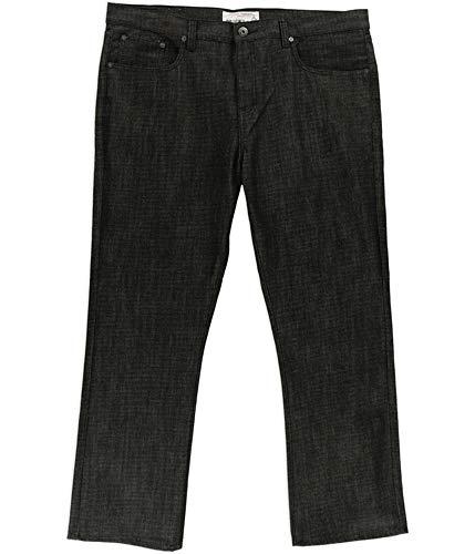 Ecko Unltd. Mens 714 Slim Straight Leg Jeans, Black, 36W x 32L