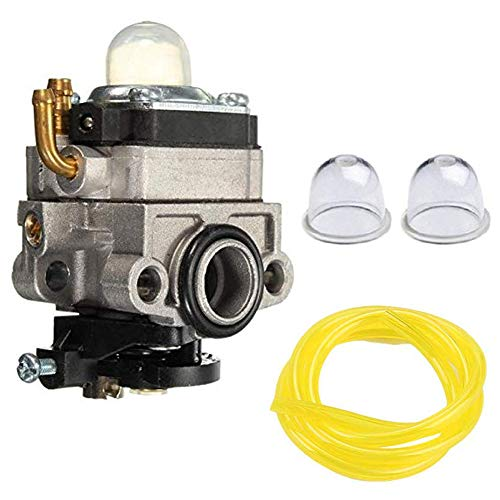 Carkio Carburetor Primer Bulbs 2-Feet Fuel Line Replace for Walbro WYL-240-1 WYL-196 MTD MP425 MP425 Replace 753-1225 753-05251
