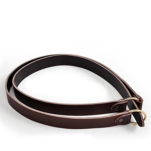 Mittelalterlicher Ring-Gürtel braun