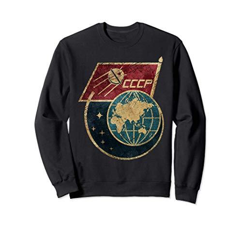CCCP Original Russia Space Program USSR Gift Tshirt Felpa
