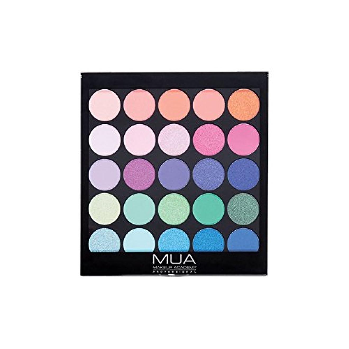 登録ふざけた欠陥のアイシャドウパレット熱帯オセアナ054 x4 - MUA Eyeshadow Palette Tropical Oceana 054 (Pack of 4) [並行輸入品]