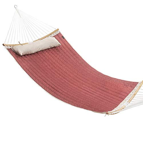SONGMICS Hammock, Padded Double Hammock, Quilted Hammock with Hanging...