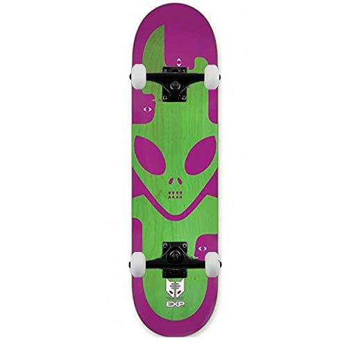Alien Workshop Exp - Skateboard completo, colore: Rosso