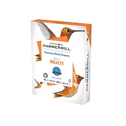 Our #2 Pick is the Hammermill Premium Multipurpose Printer Paper