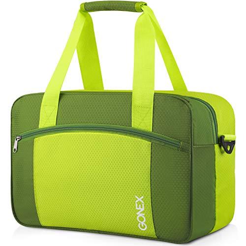 Gonex 15L Sporttasche klein Reisetasche wasserdichte Tasche mit Reißverschluss Trainingstasche für Damen Herren Kinder Schwimmen Lernen