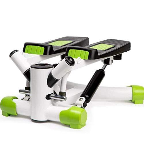 WYYAF Stepper Stepper Stand Up hometrainer Mini Crosstrainer pedaal stapsgewijze stappen-voor-stap met instelbare weerstand en LCD-display Air Climber Step Fitness apparaat incl.