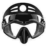 Máscara de Snorkel Set los anteojos de protección UV Anti vaho y Anti Fugas for los jóvenes Adultos Esnórquel 4 Colores (Color: Verde, tamaño: un tamaño) Jzx-n (Color : Black, Size : One Size)