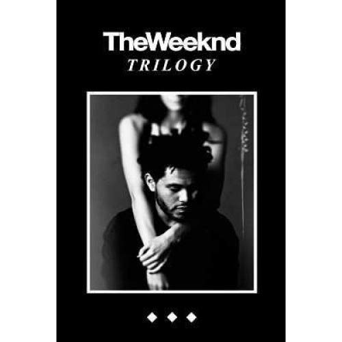 Yutirerly Poster (24x36) The Weeknd Trilogy Music by PosterSuperstars