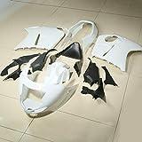 TCMT ABS Unpainted White Injection Fairing Bodywork Fits For Honda CBR 1100XX 1996-2007 97