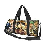 Anime One Piece Leisure Travel Bag Unisex Bolsos Vuelo Moda Gimnasio Deportes Entrenamiento Compras Hombro Bolsas