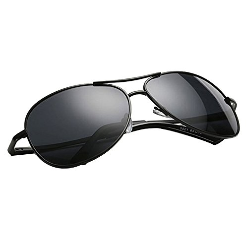 Personalidad Clásica Male Polarizer HD Men Night Driving Goggles Antideslumbrante Gafas De Seguridad Gafas De Sol ⭐