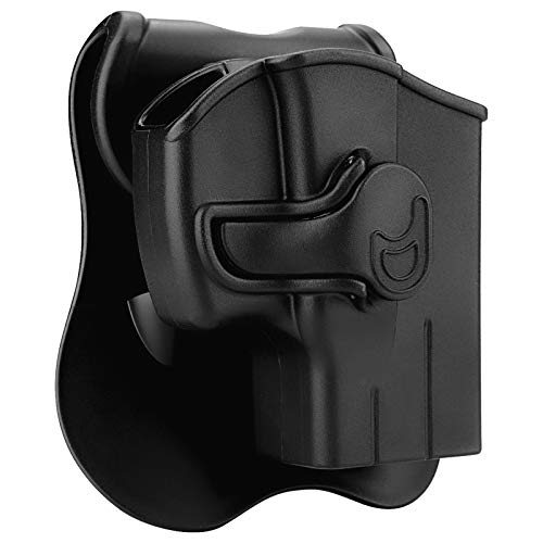 Polymer OWB Holster for Taurus G2C G3C G2S G3 TX22 Millennium G2 PT111 PT138 PT140 PT145 - Index Finger Released | Adjustable Cant | Autolock | Outside Waistband | Right Handed