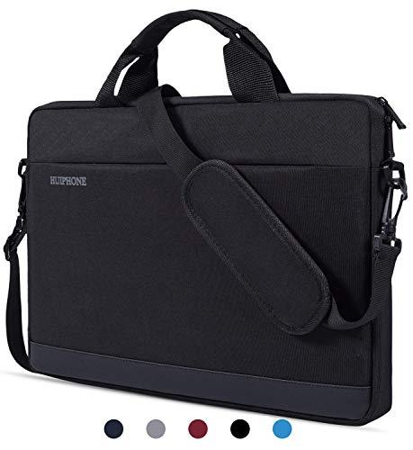 dealcase Laptoptasche für 39,6 cm (15,6 Zoll) Acer Aspire E 15 / Acer Predator Helios 300 / Lenovo ASUS Dell HP 39,6 cm (15,6 Zoll) Laptoptasche Schwarz schwarz 15.6 Inch