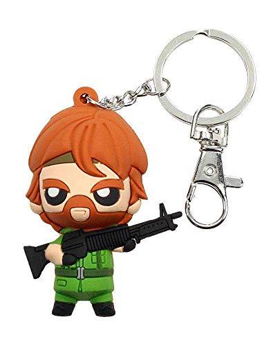 SD Toys Missing In Action sleutelhanger, rubber, Pokis Tough Guy MGM blister, meerkleurig (SDTMGM20325)