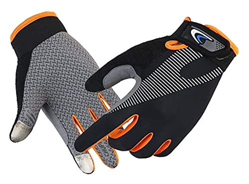 gloves for men Cycling Gloves Full Finger Touch Screen for Women Men Breathable Non- slip Motorcycle Mountain Bike Riding Gloves Road Bicycle BMX Lifting Fitness Climbing Workout Exercise cycling glo