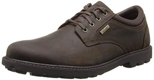 Rockport Men's Storm Surge Water Proof Plain Toe Oxford Tan 9 M (D)-9 M