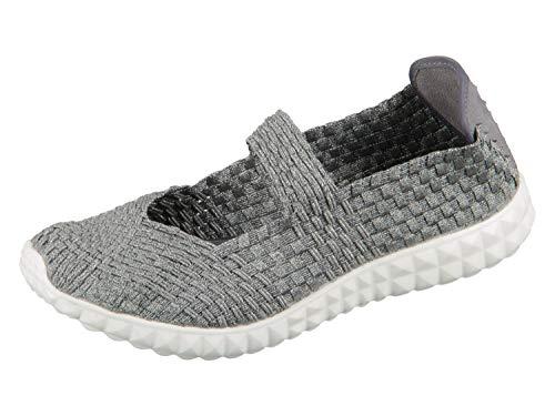 Rock Spring Damen Slipper Grau/Silber Schuhe 36028-19-F17, EU 38