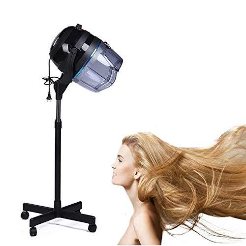 LAW Casque Sèche Cheveux sur Pied Outil Coiffure Professionnel Permanente avec Minuterie 0-60 Min Hauteur Réglable pour Salon de Coiffure