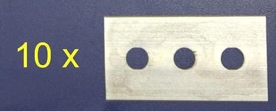 IRIS 2384 Cuchilla recamb. rasqueta vitrocerámica, Acero ...