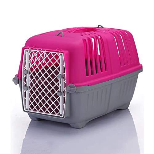 LXXCW Transporte en el avión Viaje al Aire Libre Práctica Jaula de Transporte de Mascotas Desmontable (Size : Small)