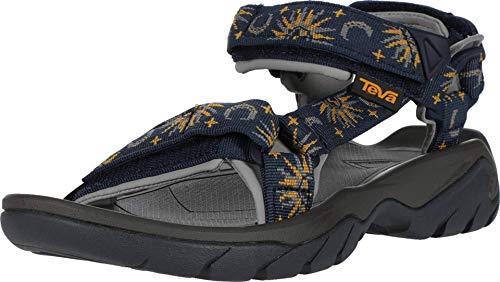 Teva Unisex Terra FI 5 Universal Sport Sandal, Sun and Moon Insignia Blue, 7 US Women