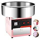 Cotton Candy Machine -Nurxiovo 21 Inch Electric Large Commercial Cotton Candy Maker Stainless Steel...