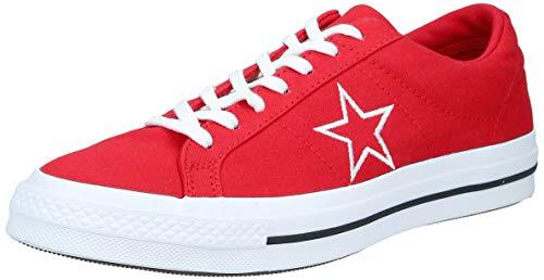 Converse One Star Ox, Zapatillas Hombre, Rojo (Red 163378c), 44.5 EU