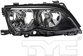CarLights360: Fits 2002 2003 2004 2005 BMW 325i Headlight Assembly Passenger Side (Right) DOT Certified w/Bulbs Halogen Type - Replacement for BM2503122