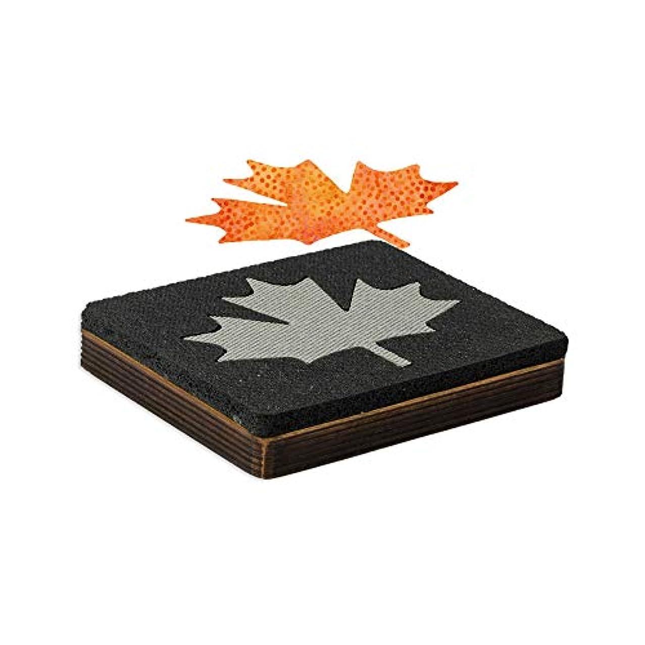 AccuQuilt Studio Fabric Cutting Dies; Leaf-Maple #1