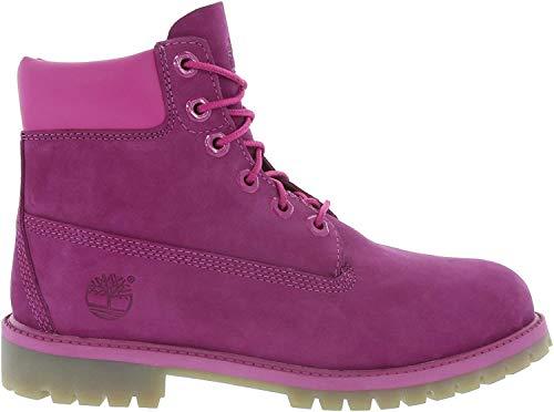 Timberland 6-Inch Premium Wasserdicht Stiefel echtes Leder Winterstiefel Violet A14YQ, Größe: 37 Violett