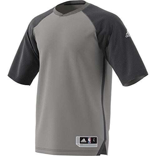 adidas As 3/4 Shooter Camiseta de Baloncesto, Hombre, Multicolor (Nbaasw/Grpuch), S