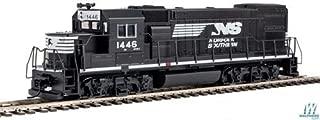 Walthers Trainline HO Scale Model EMD GP15-1 - Standard DC - Norfolk Southern (Black, White)