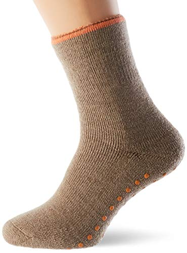 ESPRIT Damen Cosy Hausschuh-Socken, braun (Nutmeg Mel. 5410), 39-42 (UK 5.5-8 Ι US 8-10.5)