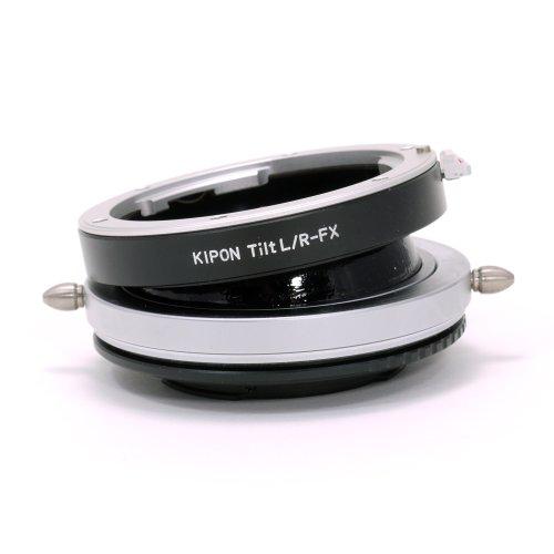 KIPON TILT L/R-FX ライカRマウントレンズ → 富士フィルムXマウントアダプター アオリ(ティルト)機構搭載 回転式