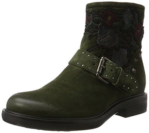 Mjus Damen 544265-0201 Combat Boots, Grün (Alga), 41 EU