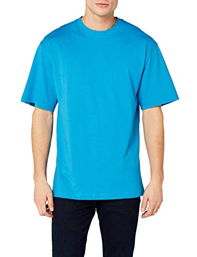 Urban Classics Tall Tee T-shirt Homme - Turquoise (Turquoise 217) - XXX-Large