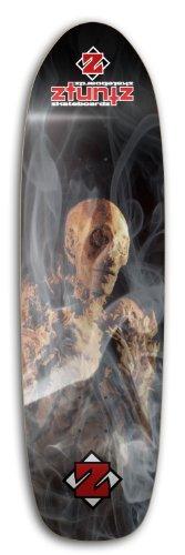 ztuntz skateboards 'The Mummy Old School Skateboard Deck, 8.50 x 32-Inch/14.5-Inch WB, Black/Bone/Red